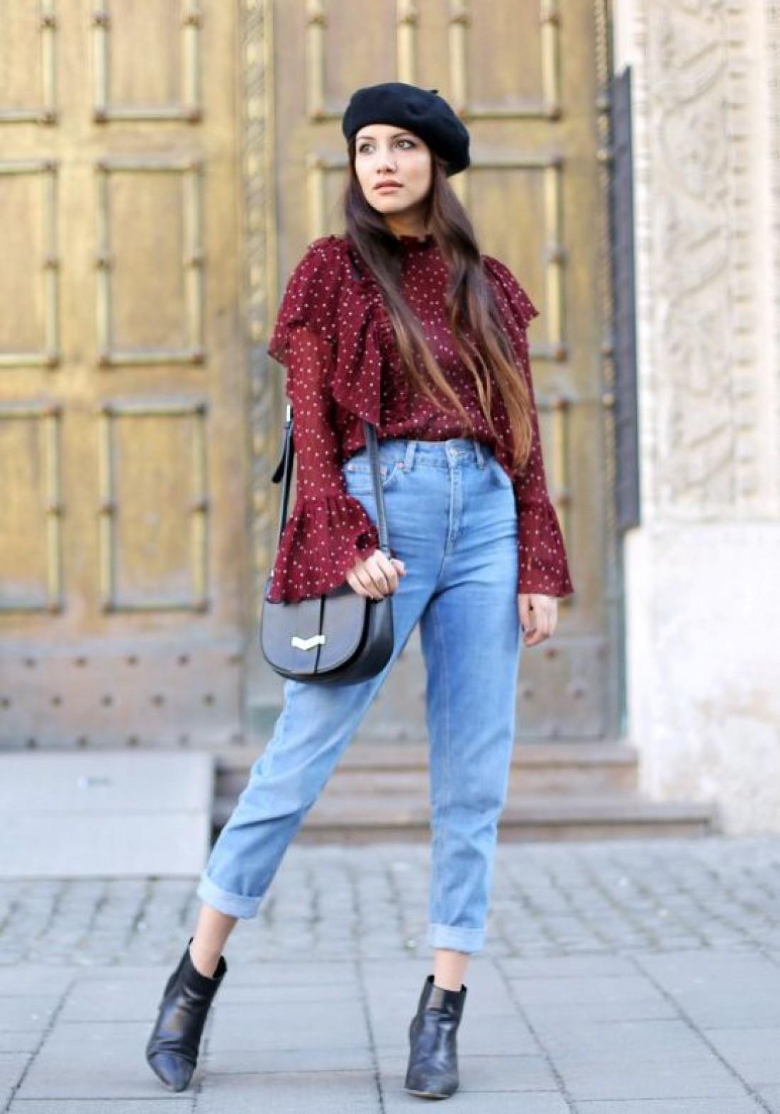 Mom jeans: образ №4