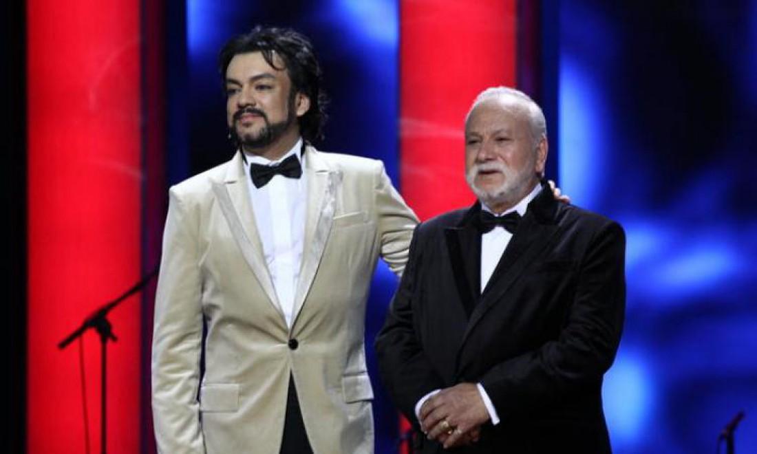 Филипп Киркоров с отцом Бедросом