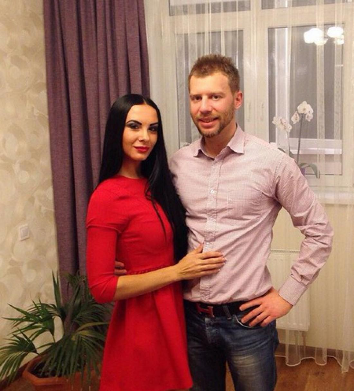 Людмила Милевич со вторым мужем