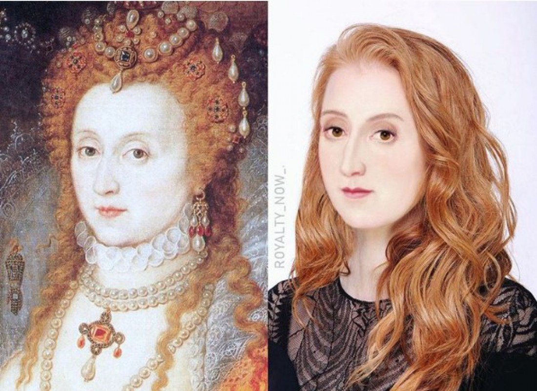 Как бы выглядела Елизавета I сегодня?