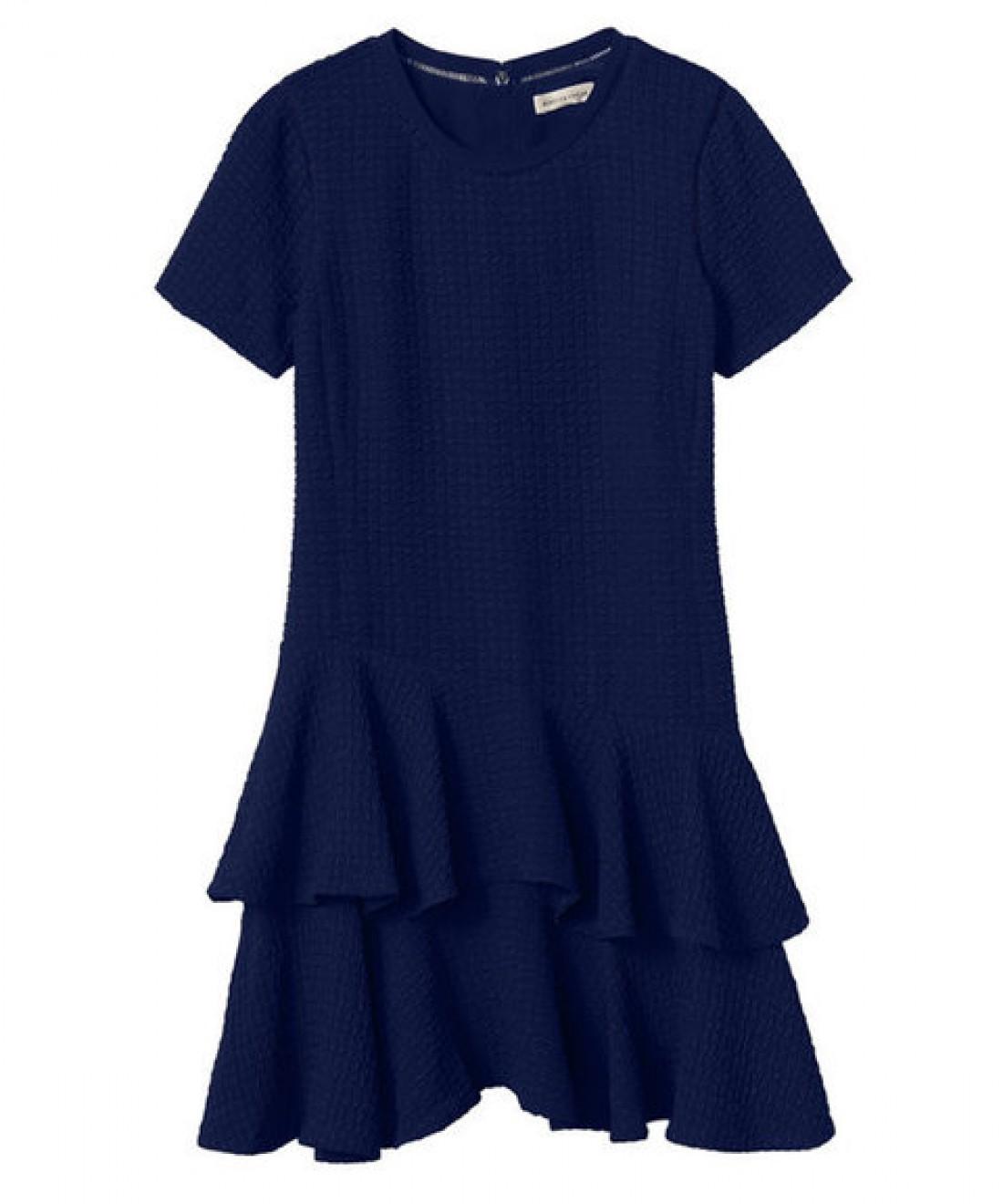 Платье с заниженной талией: вариант № 1