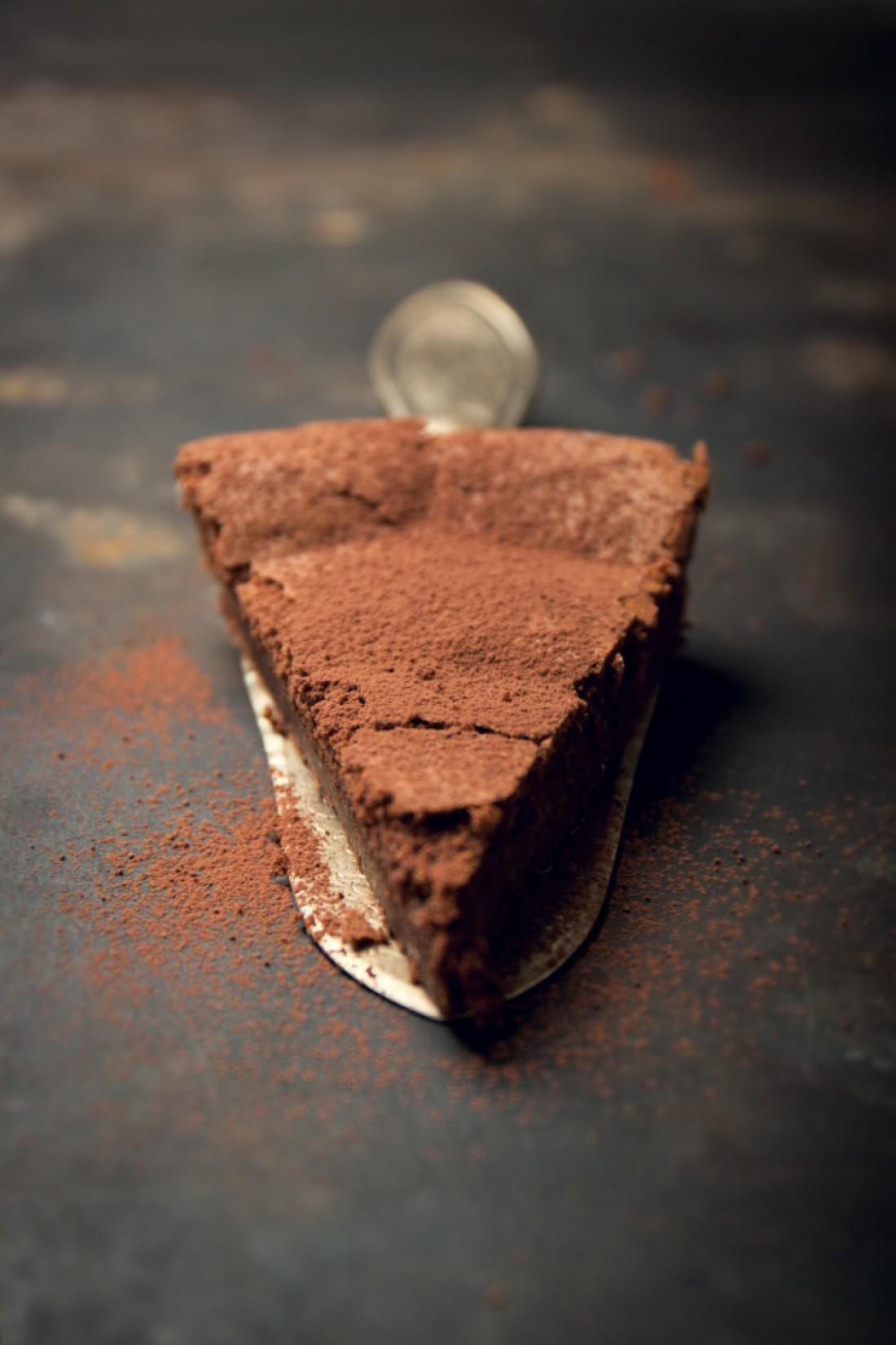 Шоколадный торт без муки: рецепт
