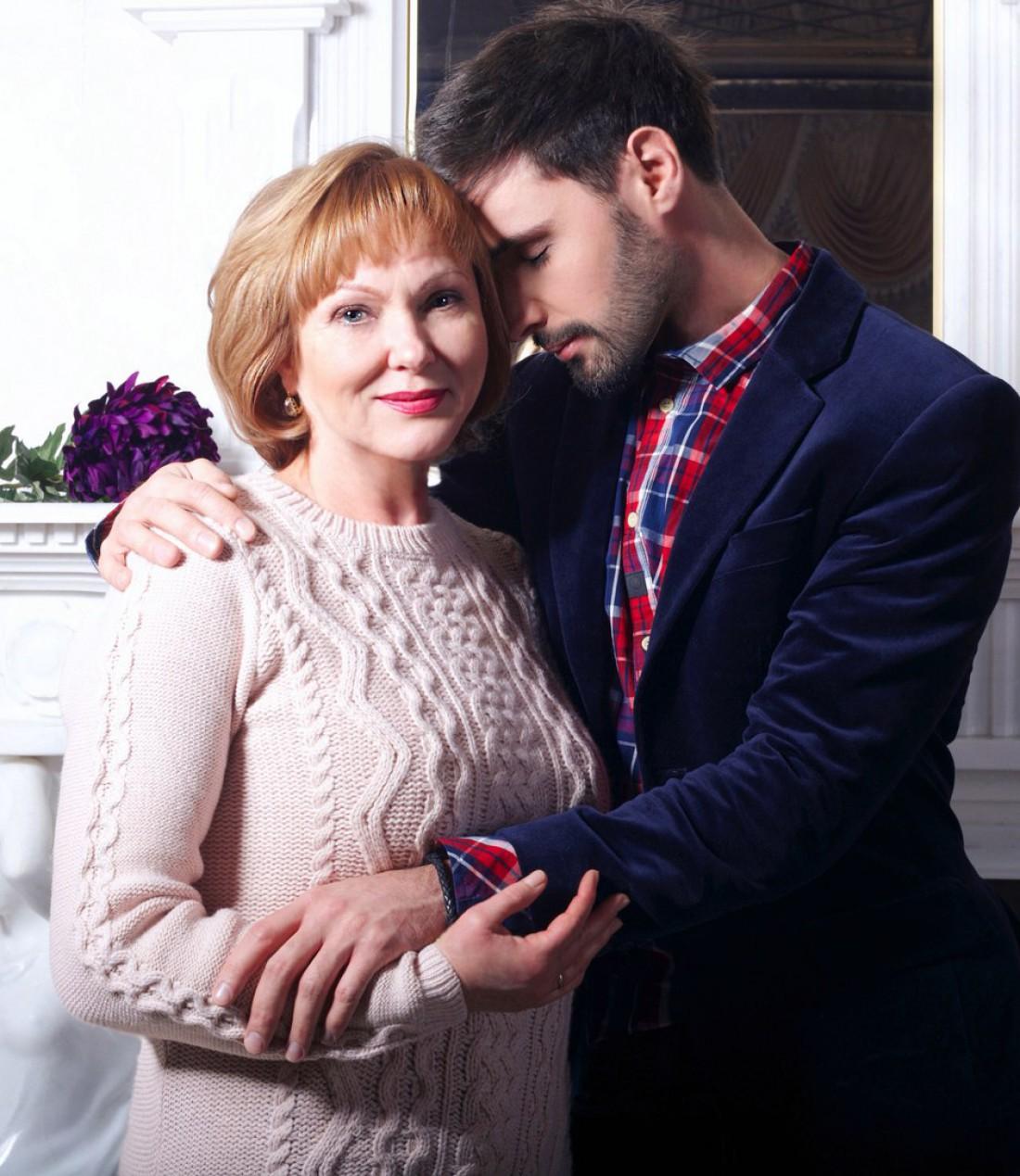 Виталий Козловский с мамой