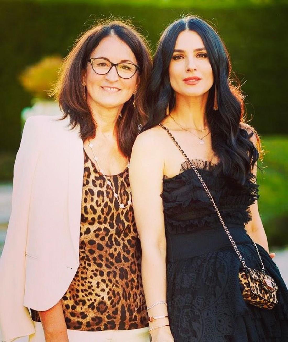 Маша Ефросинина с мамой