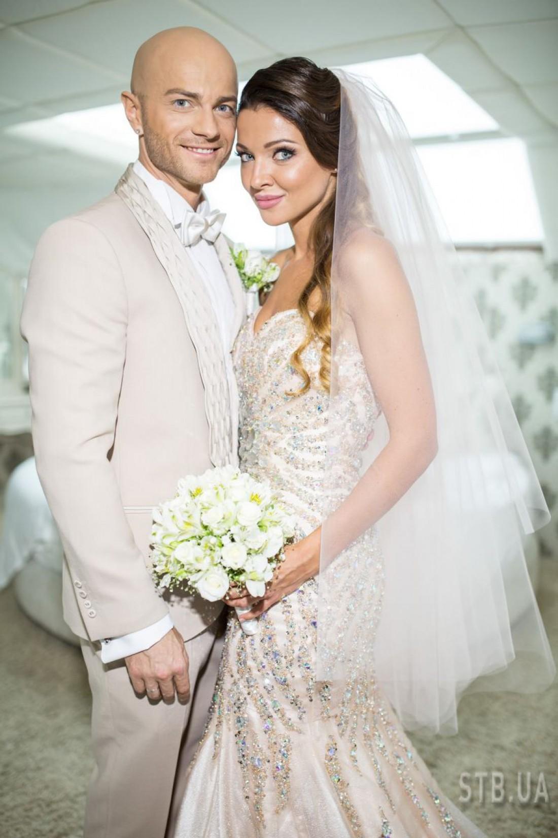 Влад Яма с супругой