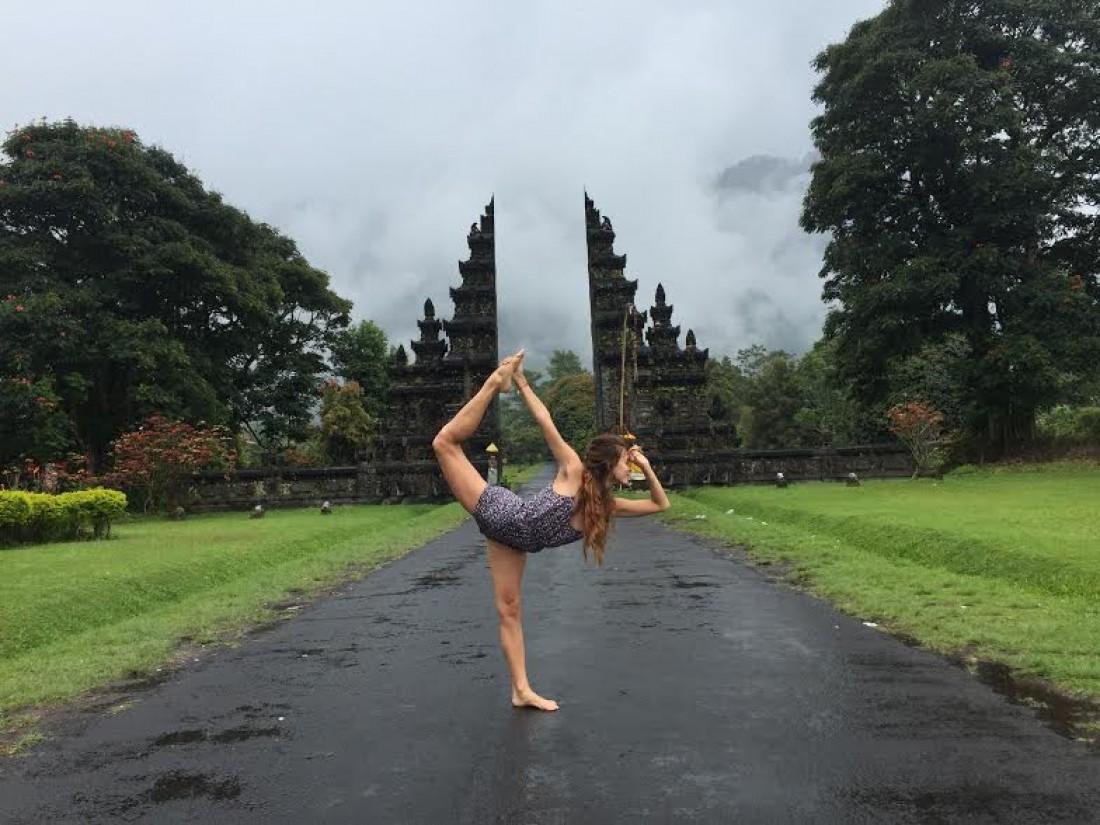 Регина Тодоренко на Бали