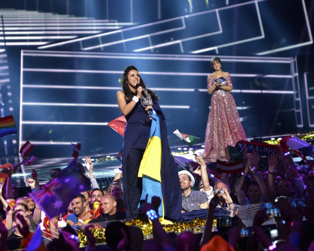 Евровидение 2016: победительница Джамала (Украина)