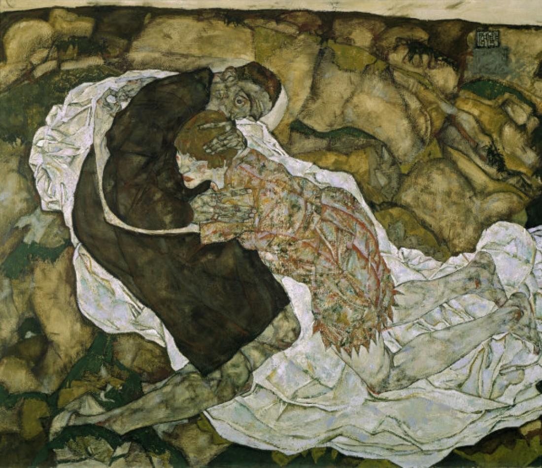 Картина Смерть и девушка