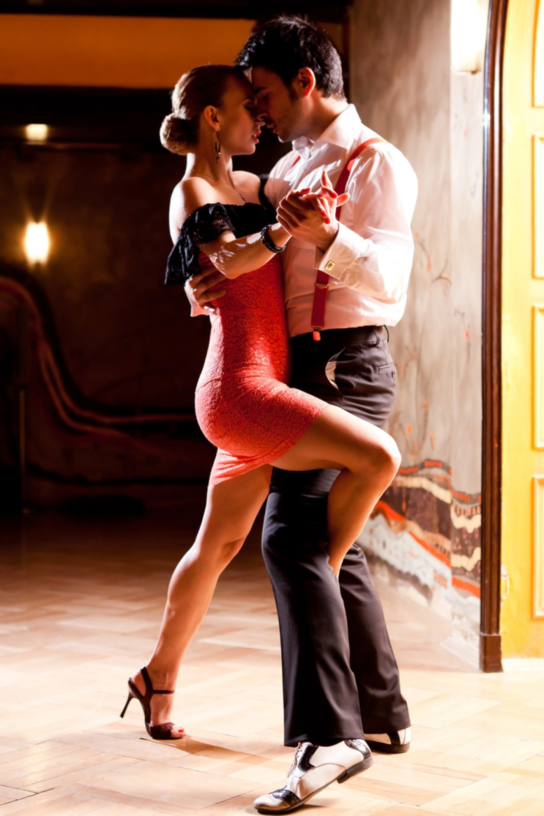 Сценарий на День святого Валентина: страстное танго