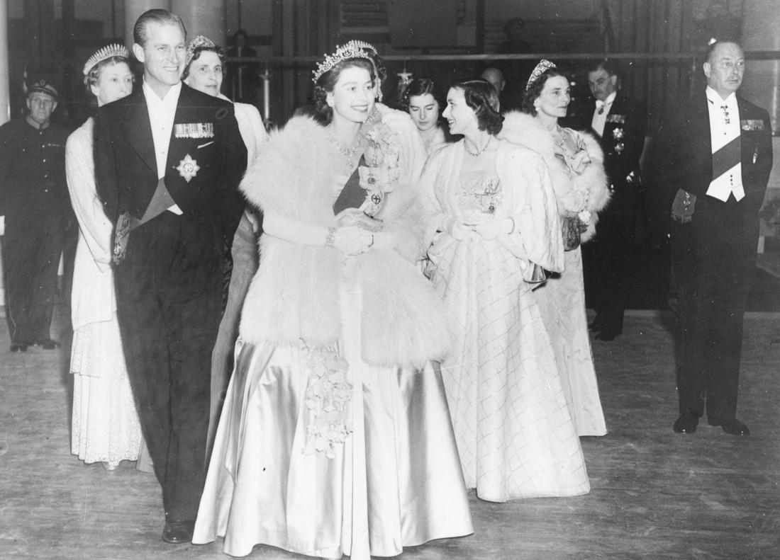 Елизавета ІІ и принц Филипп, герцог Эдинбургский. 1951 год