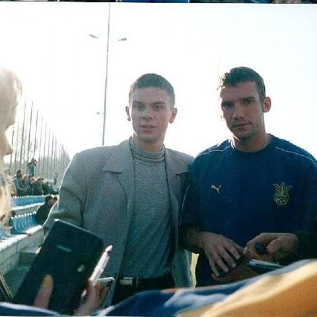 Андрей Шевченко и Дмитрий Комаров