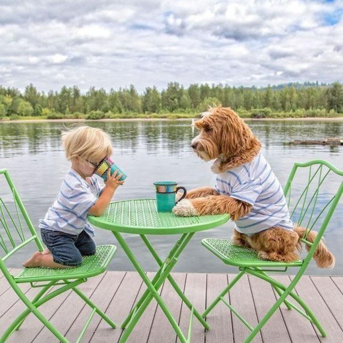 ТОП-20 фото-доказательств того, что собака для ребенка - самый лучший подарок