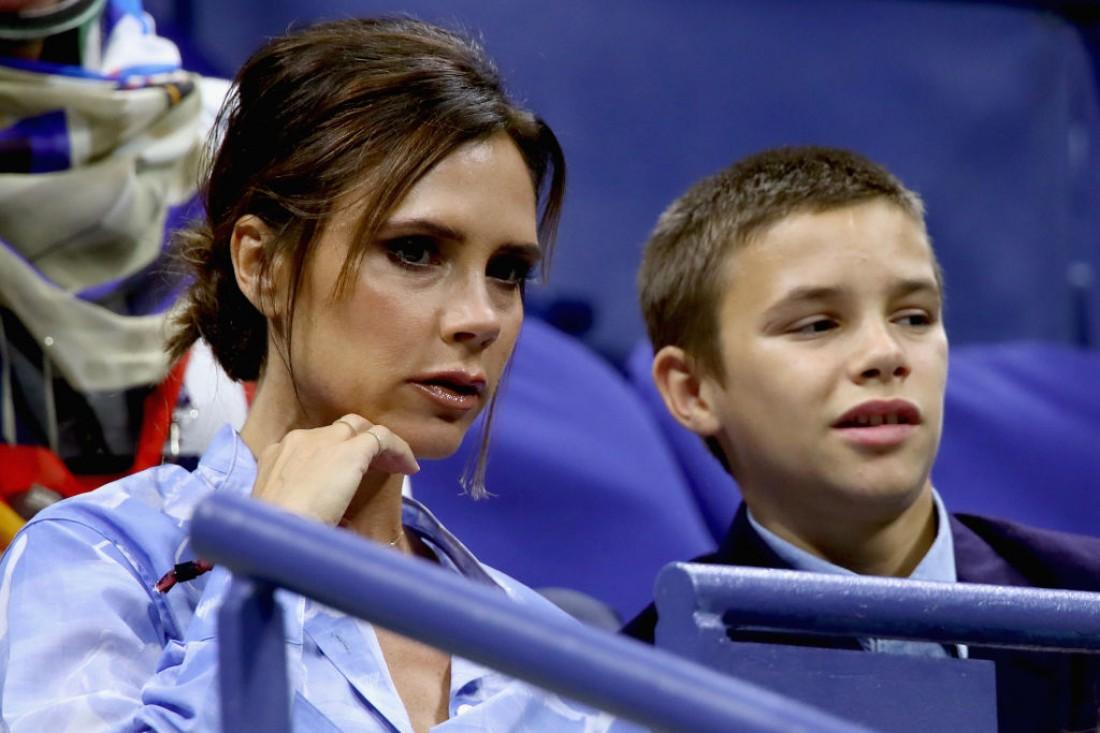 Виктория Бэкхем с сыном