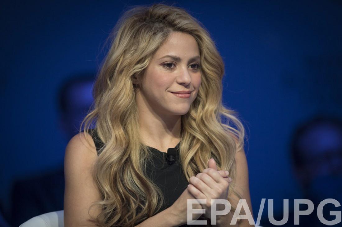 Шакира на Всемирном экономическом форуме в Давосе