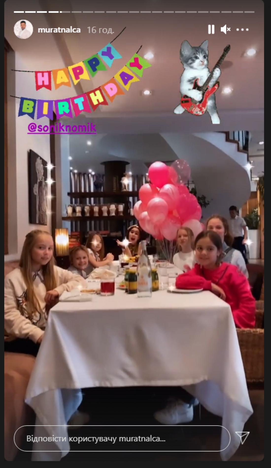 День рождения дочери Ани Лорак