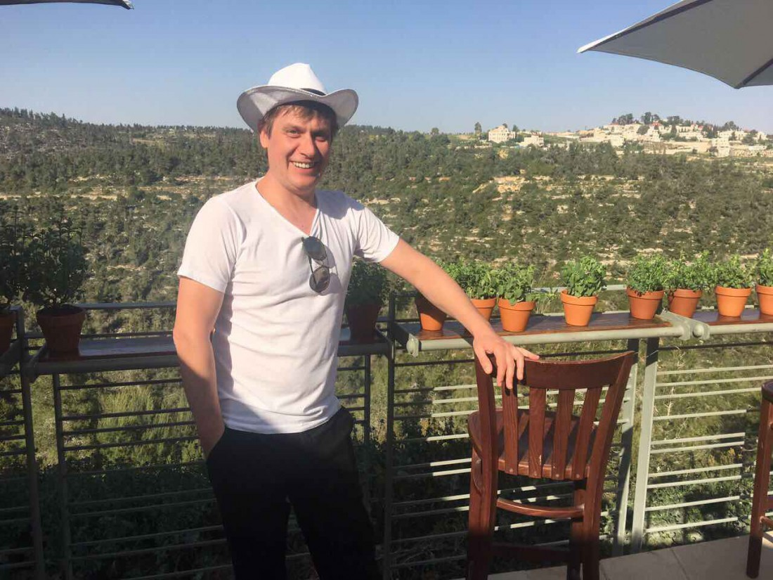 Степан Казанин в Израиле