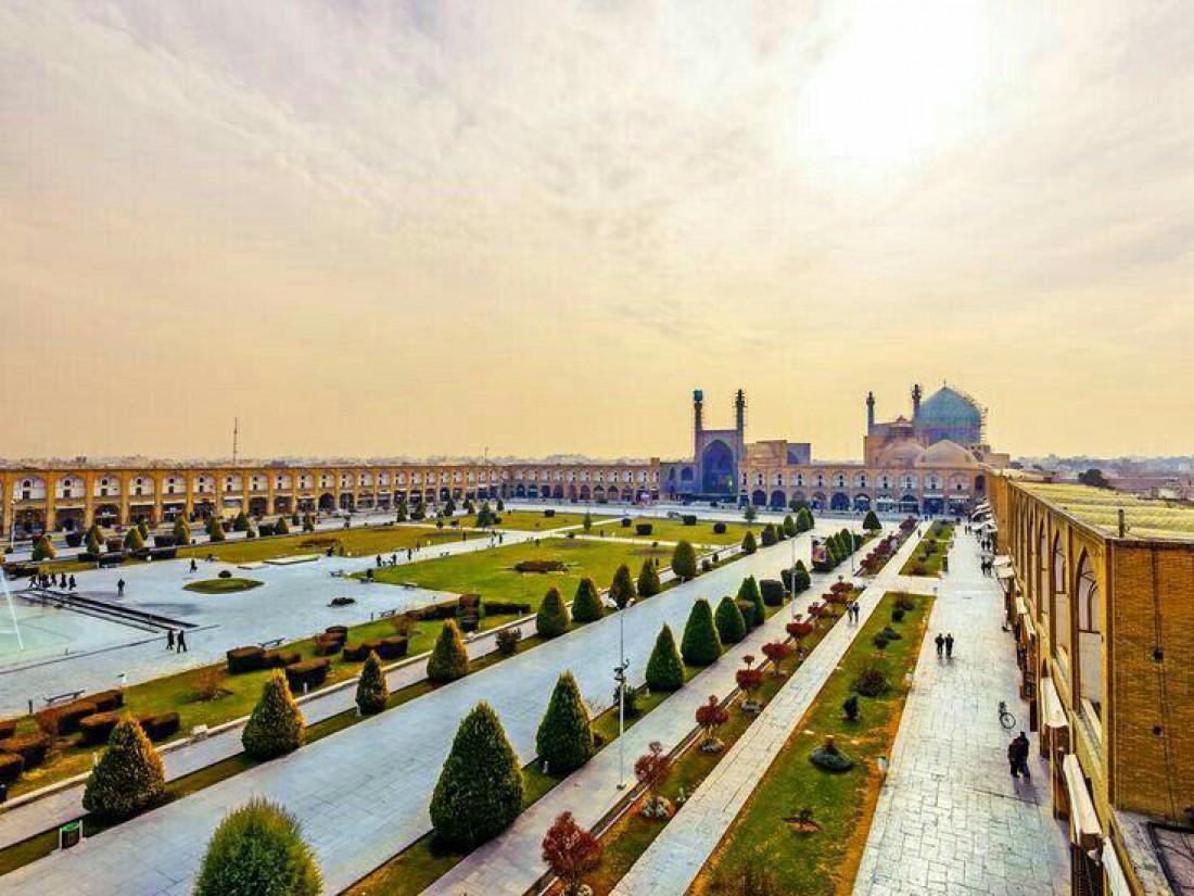 Главная площадь Ирана - площадь Имама  или площадь Накше-э Джахан