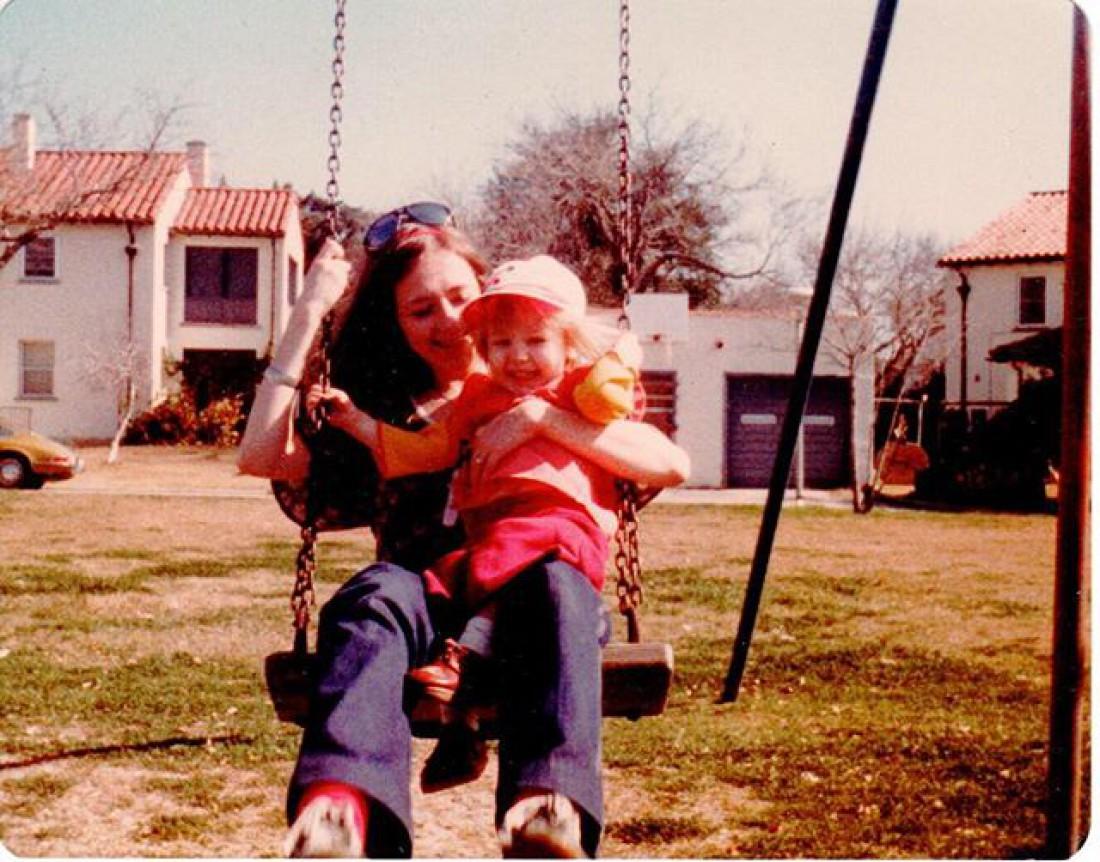 Кристина и ее мама