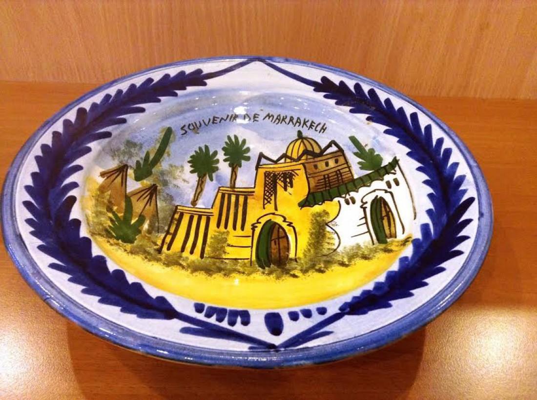 Эксклюзивная тарелка из Марокко от Леси Никитюк