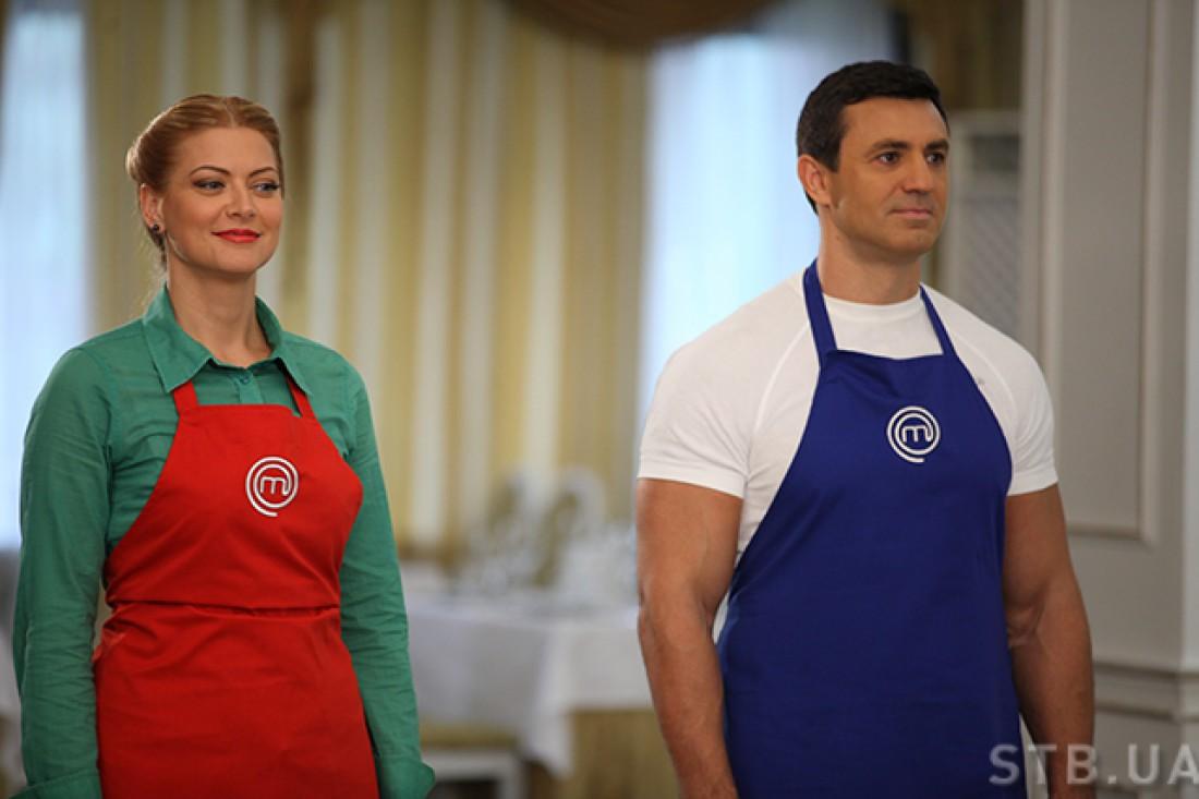 МастерШеф 5 сезон шестнадцатый выпуск: В третьем конкурсе команды возглавили судьи –Таня Литвинова и Николай Тищенко