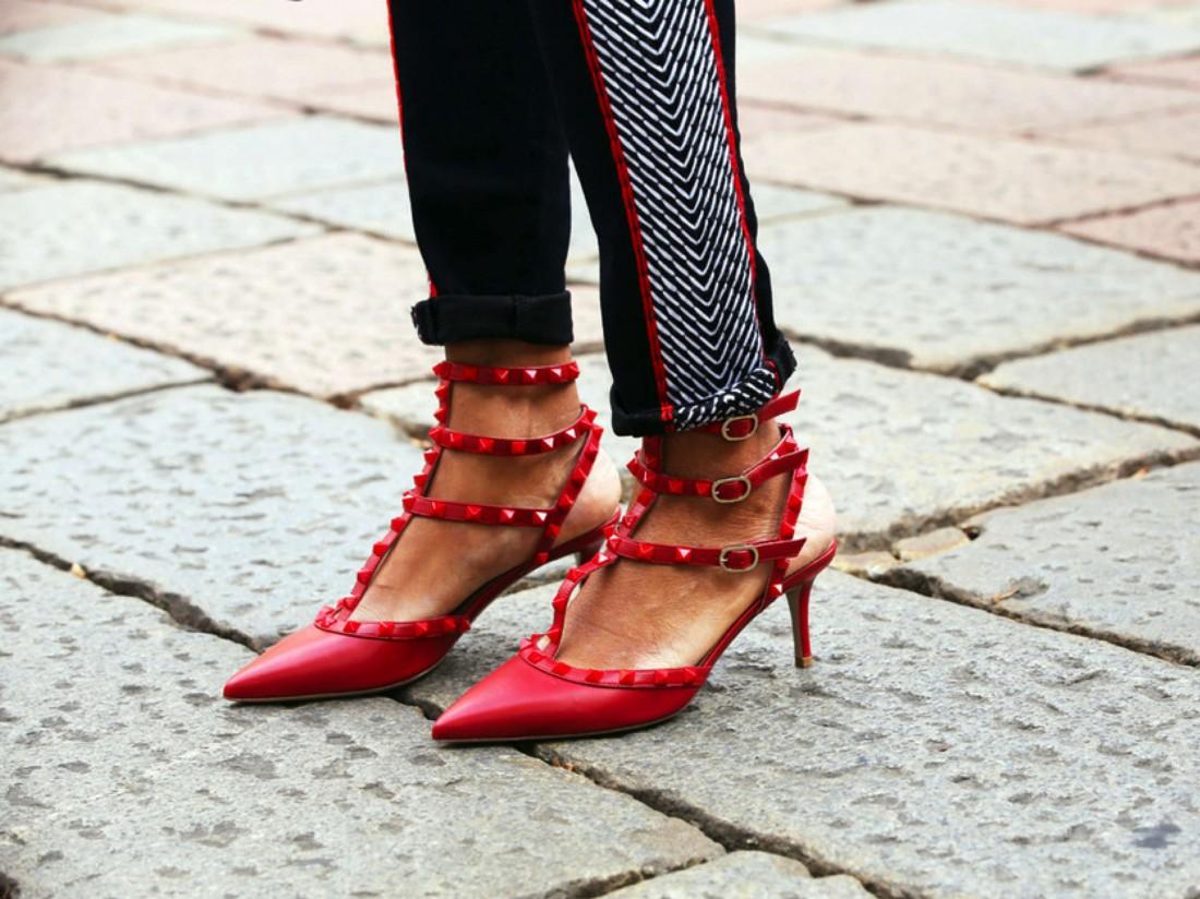 Обувь на устойчивом каблуке – идеальное решение для Нового года