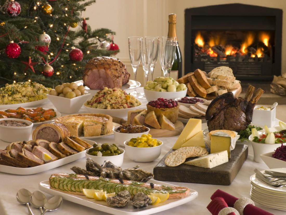 Рождественский стол в Европе