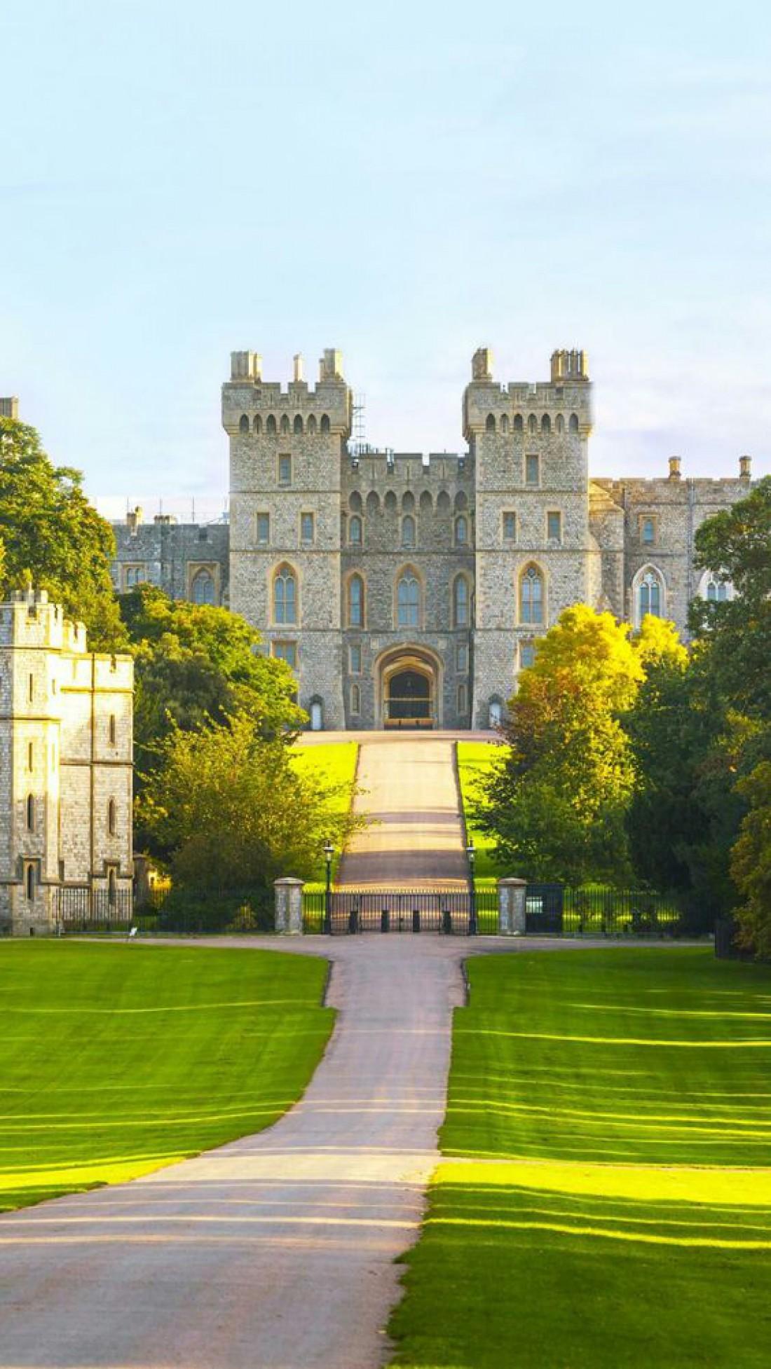 Виндзорский замок - резиденция английских королей
