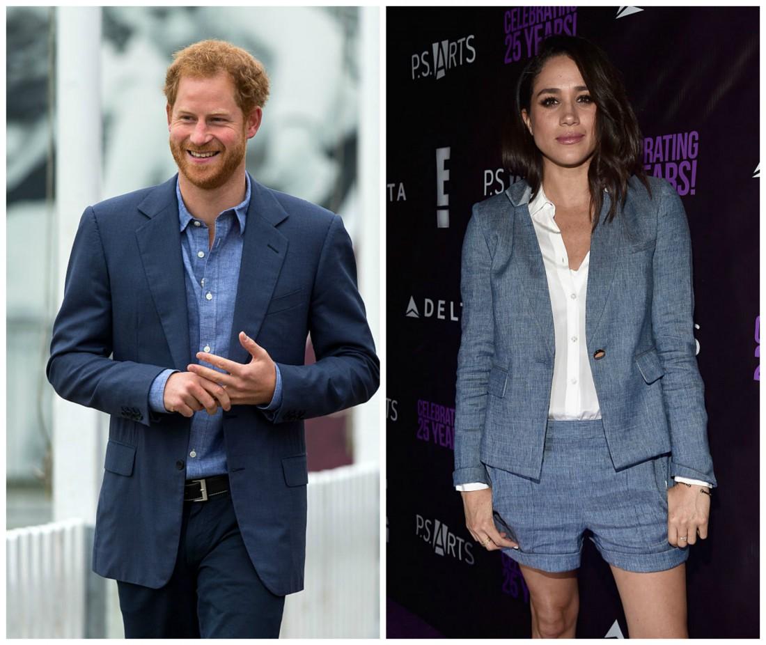 Отношения принца Гарри иМеган Маркл перешли нановый этап