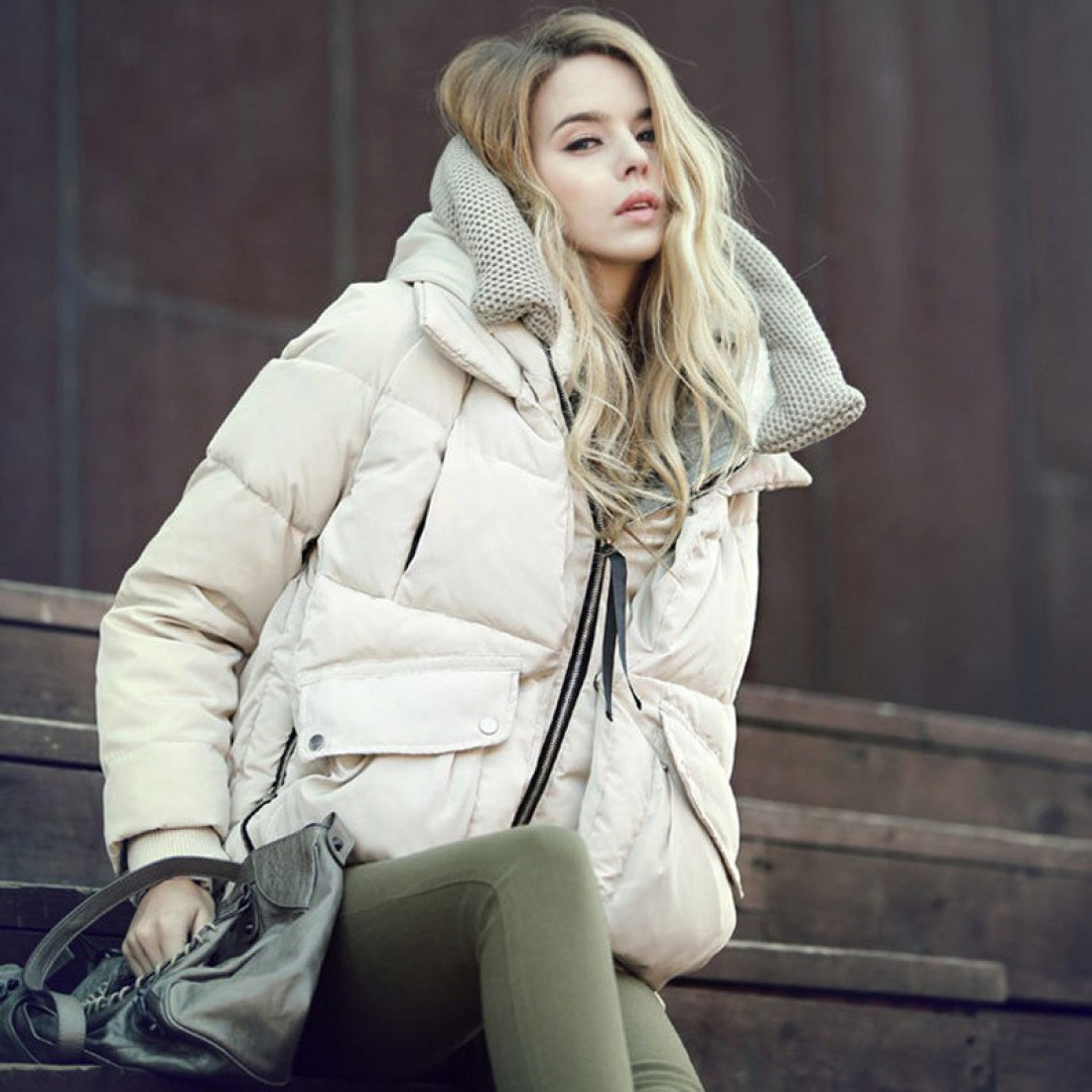Утепляйся на зиму стильно!