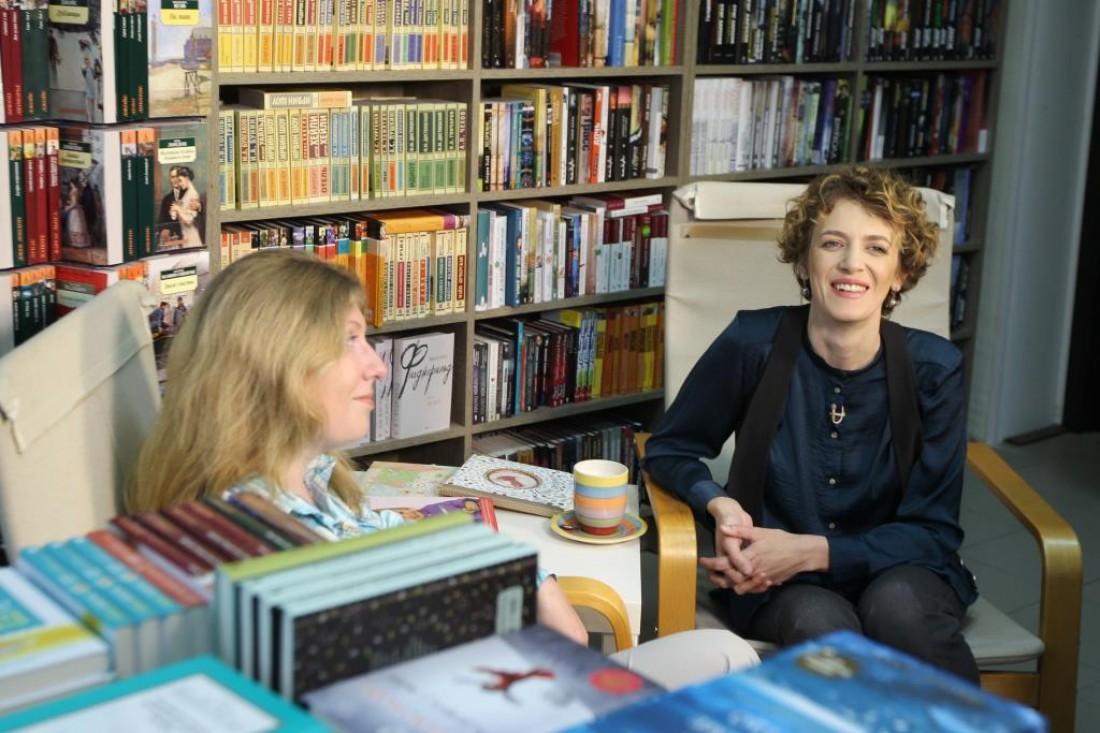 Марина Николайчук с психологом