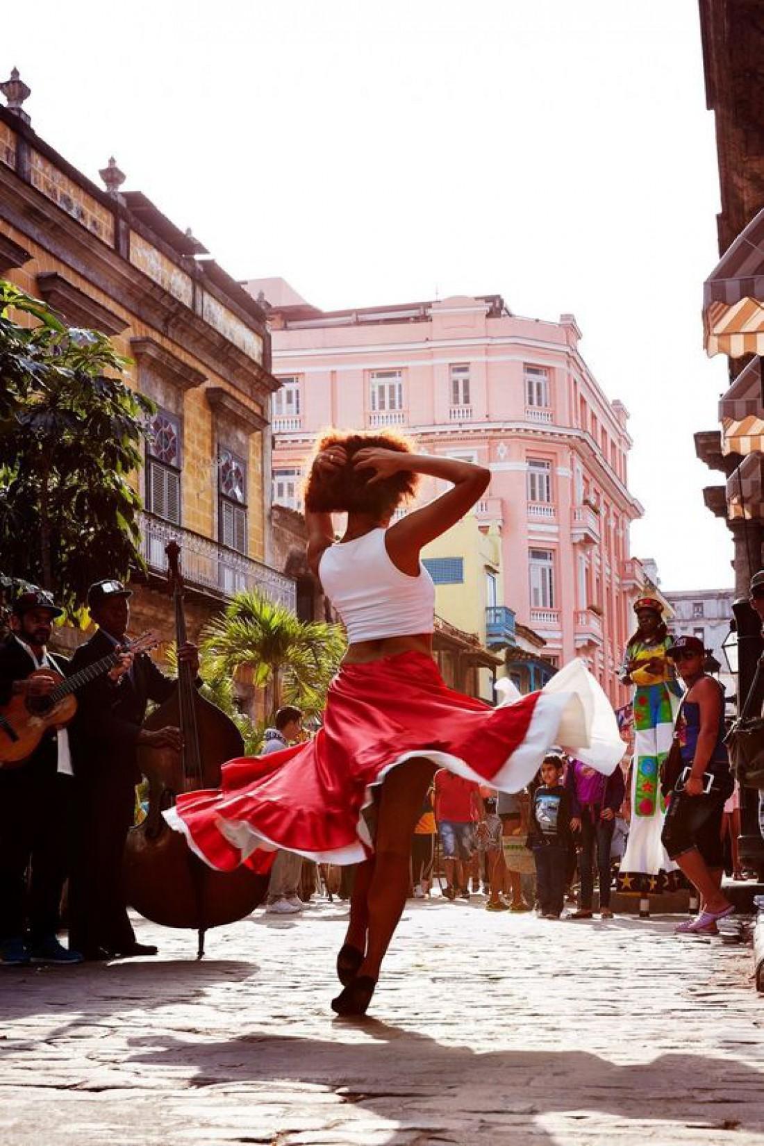 Путешествие на остров Свободы: Зажигательная Куба