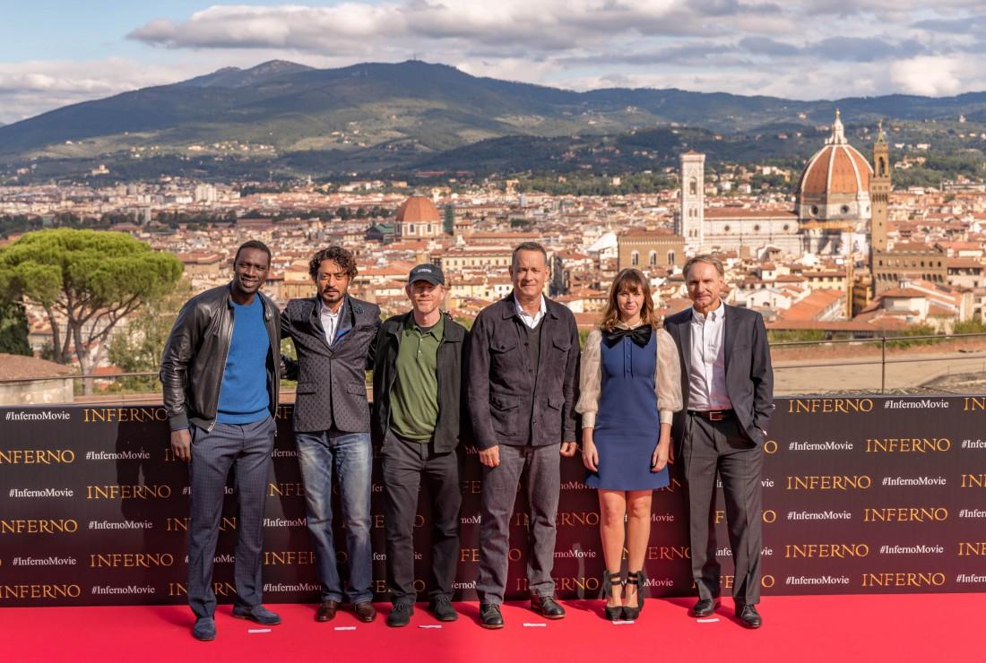 Команда фильма Инферно во Флоренции