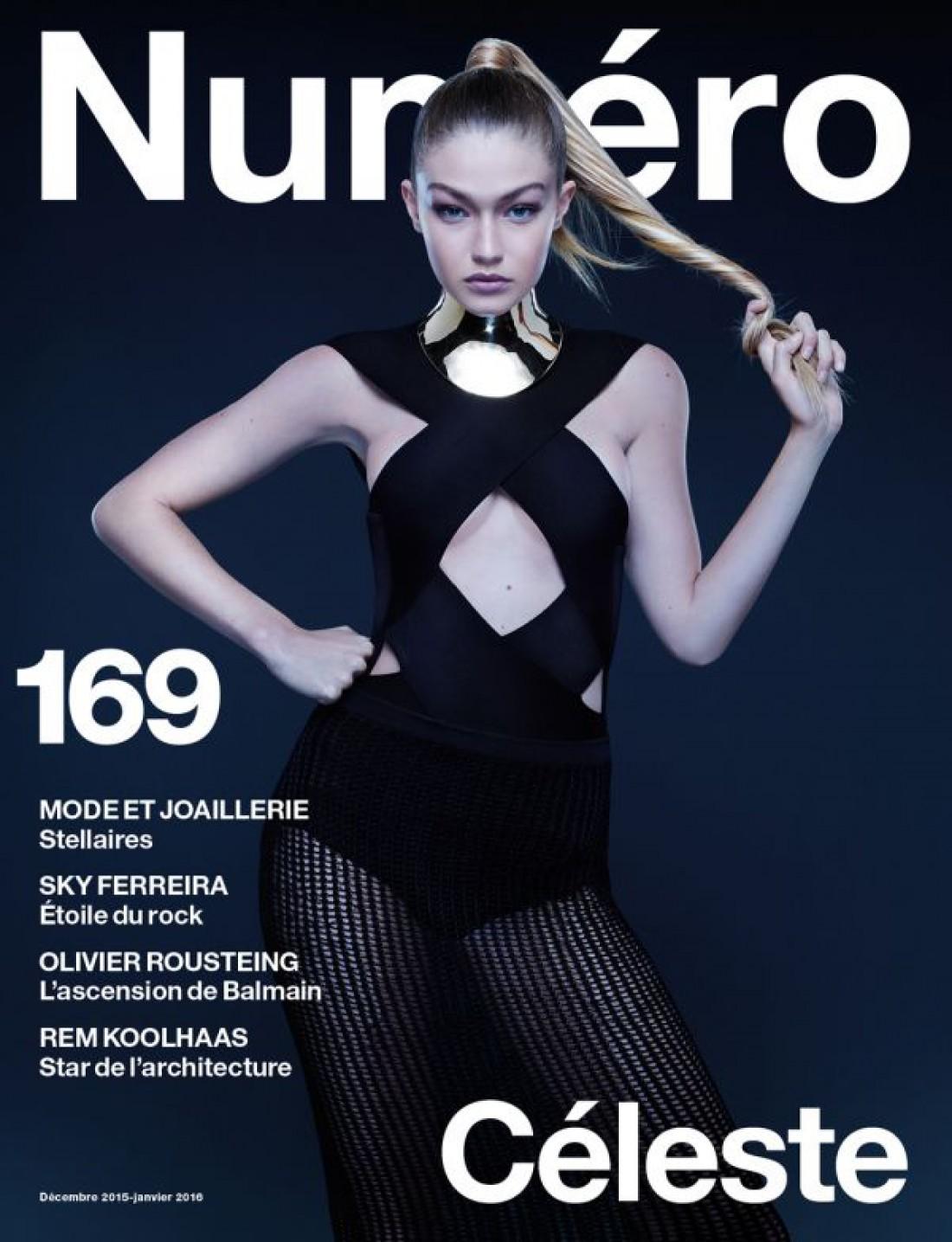 Джиджи Хадид снялась для обложки Numero