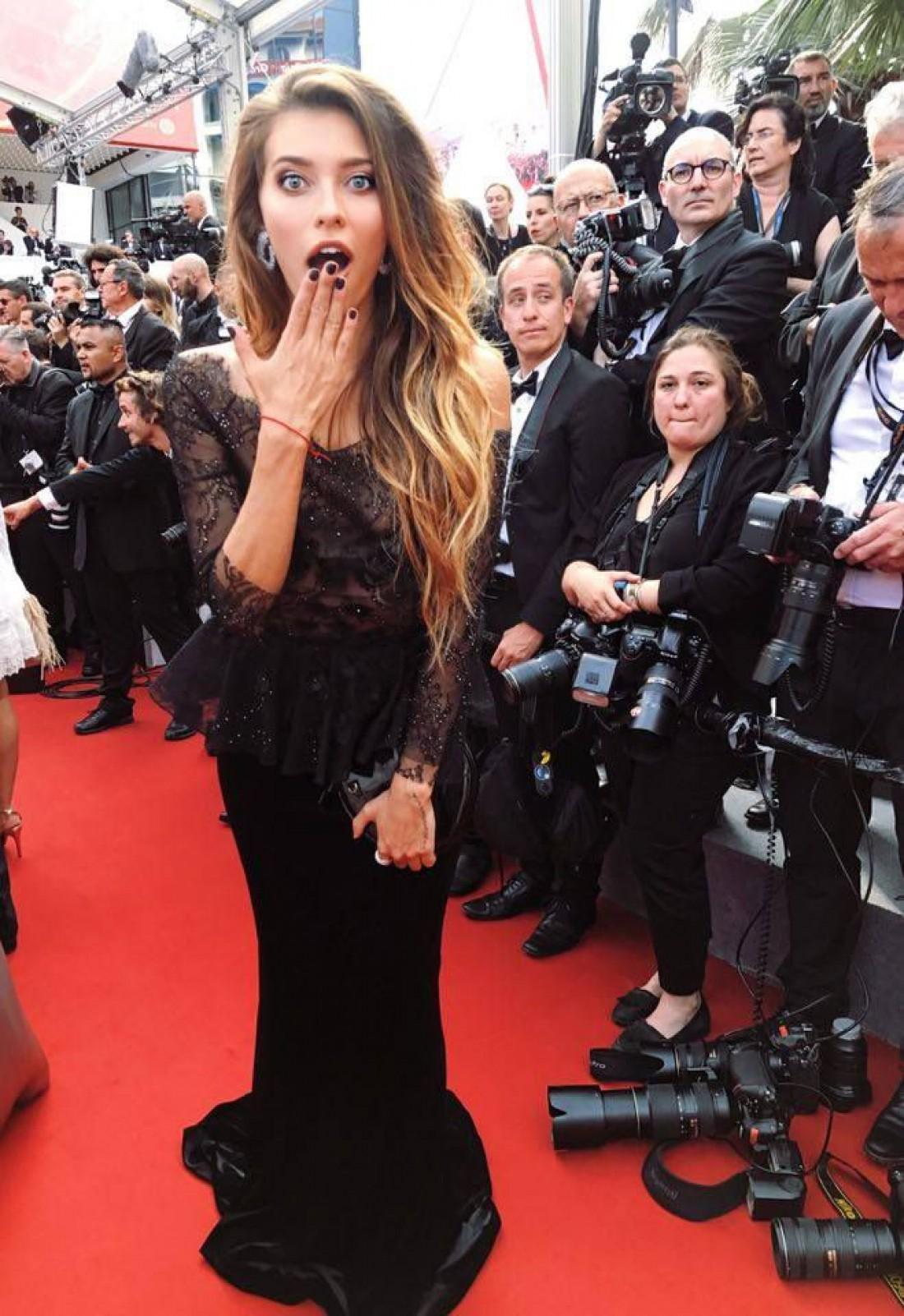 Каннский кинофестиваль 2017: первый выход Регины Тодоренко