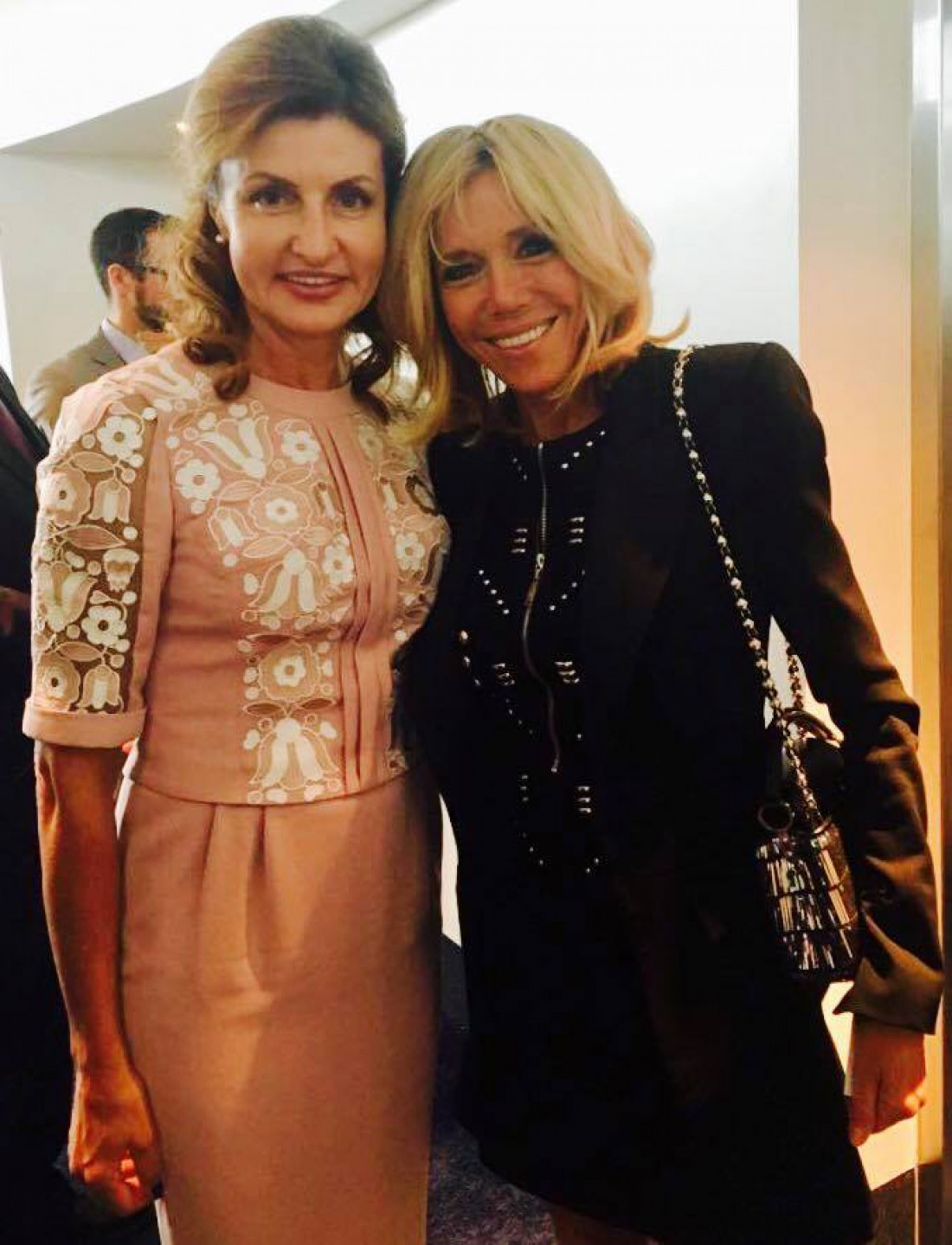 Марина Порошенко и Брижит Макрон