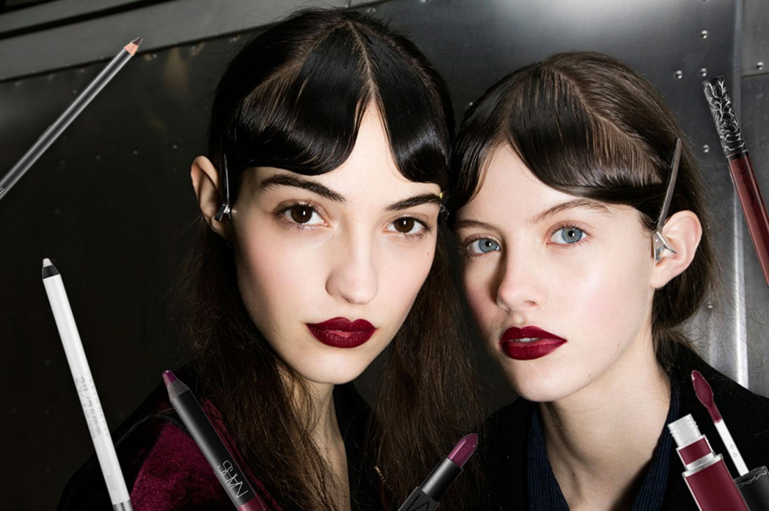 Темные губы – тренд сезона осень-зима 2016