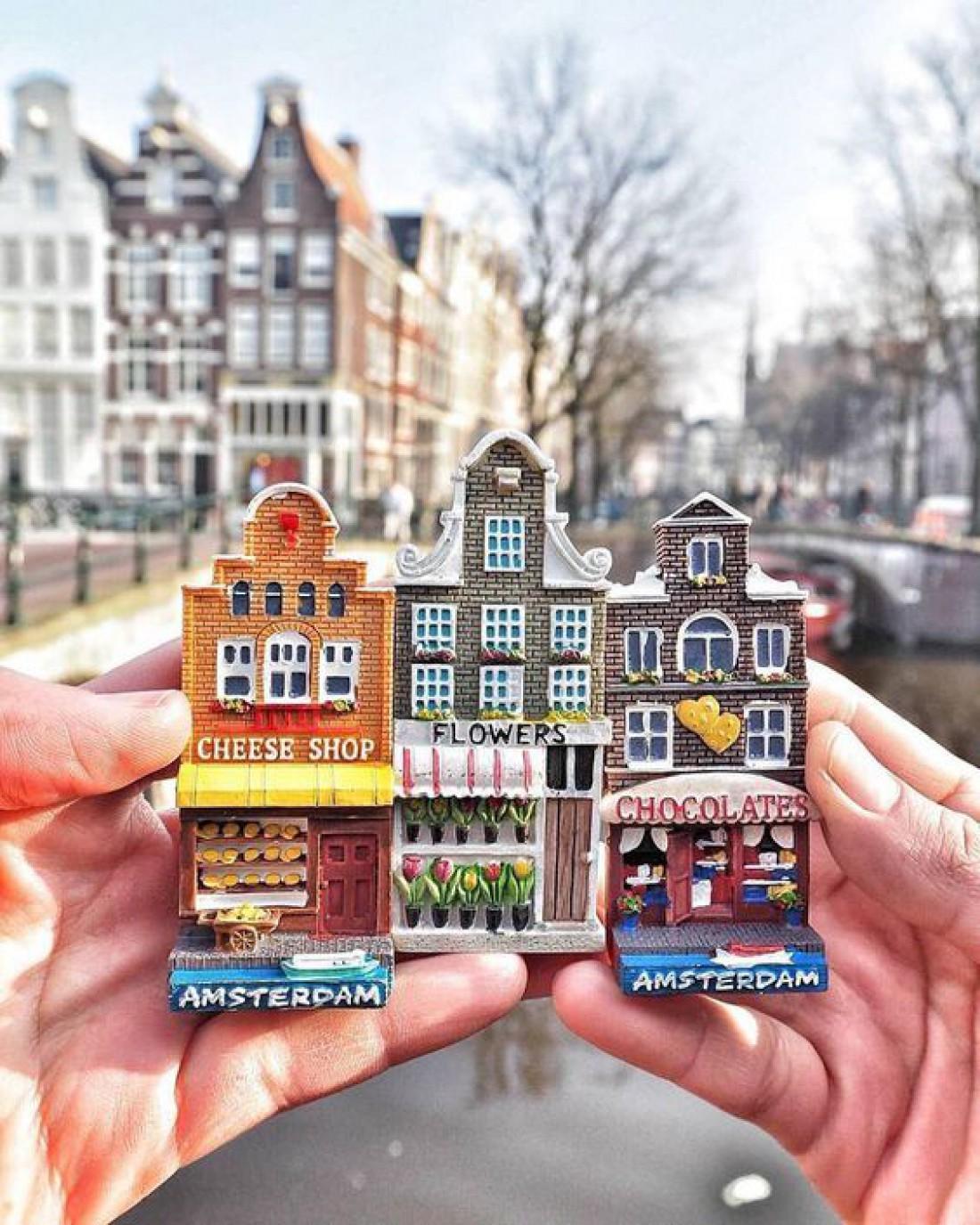 Город органичного слияния: Амстердам
