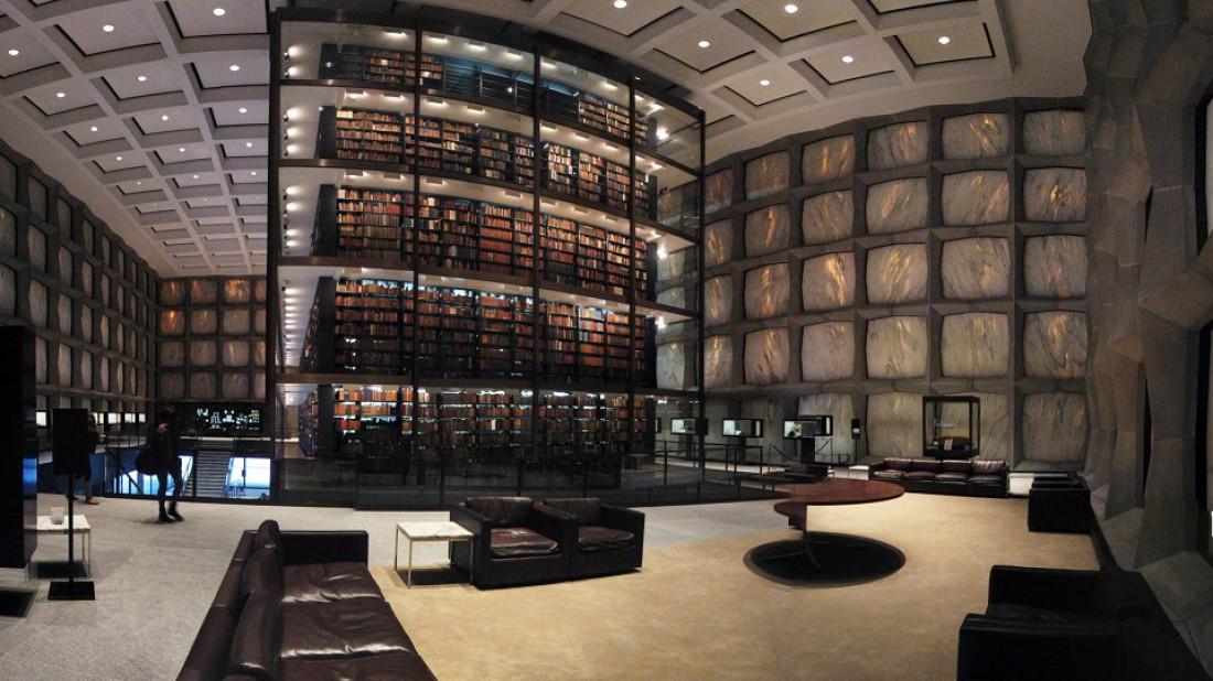 Библиотека редких книг и рукописей, Коннектикут