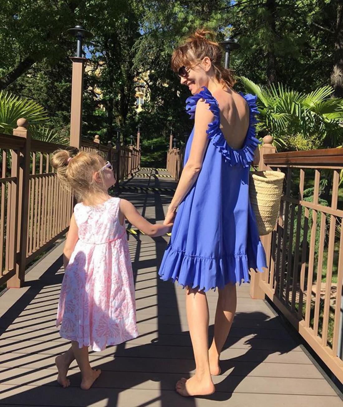 Елена с дочкой Полиной