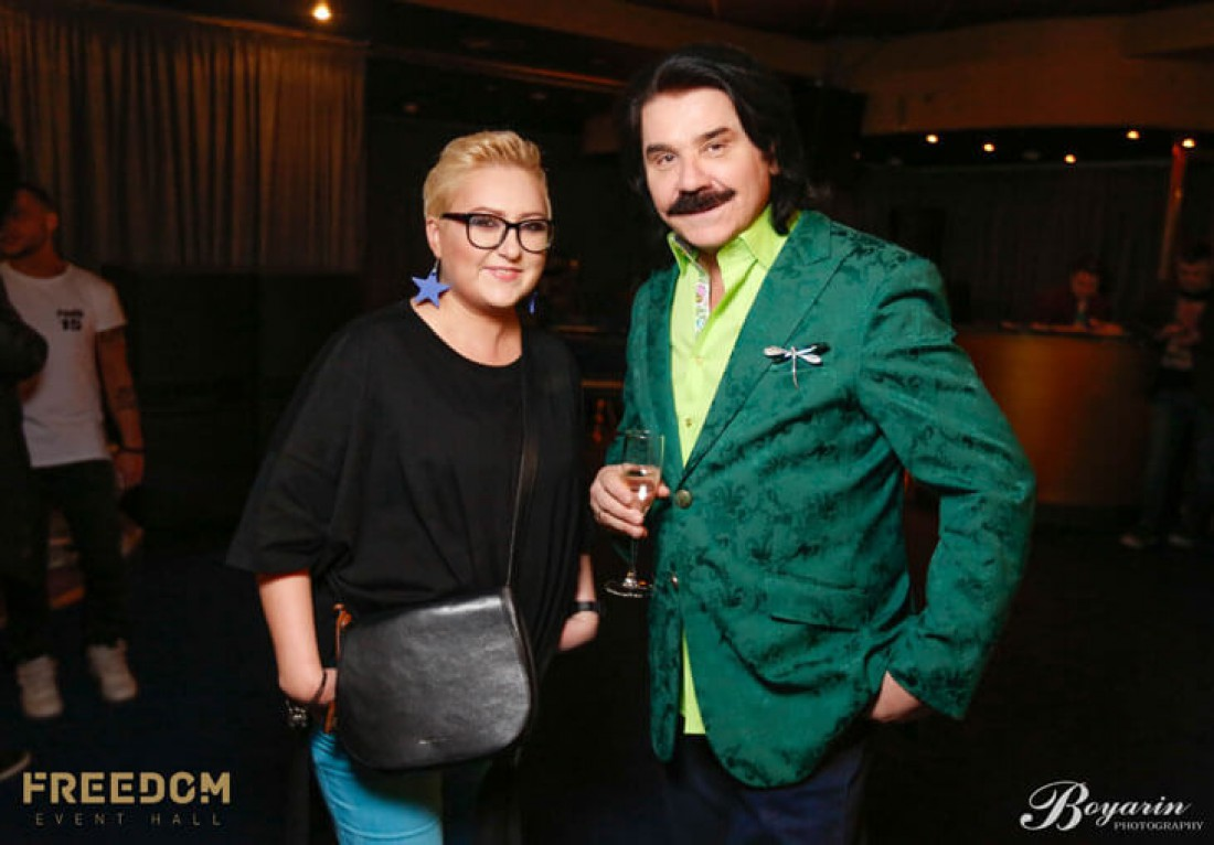 Анна Свиридова и Павел Зибров