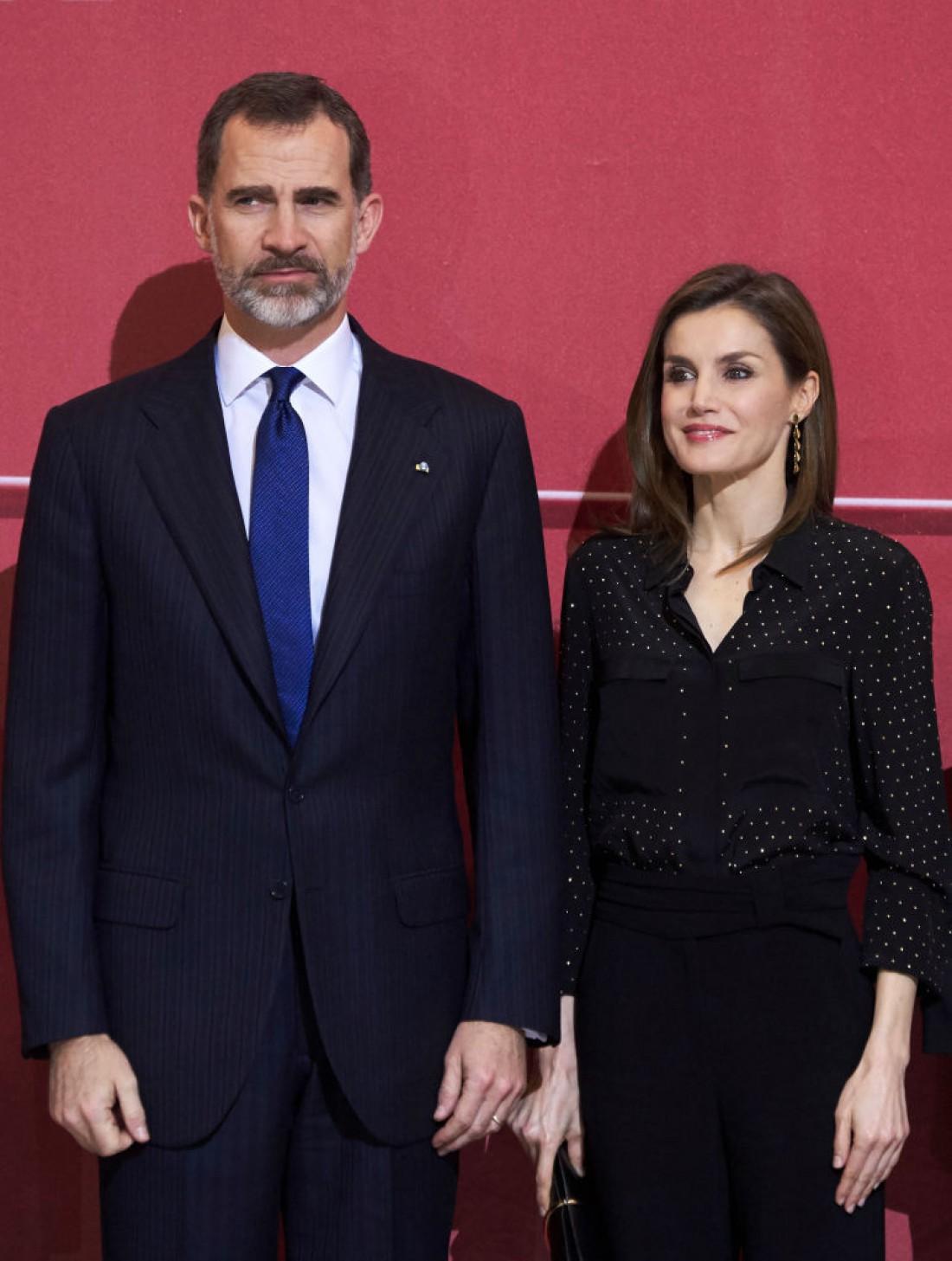 Король Испании Фелипе и королева Летиция