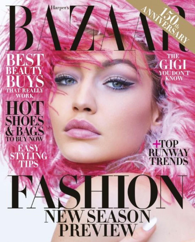Джиджи Хадид в фотосессии для Harper's Bazaar