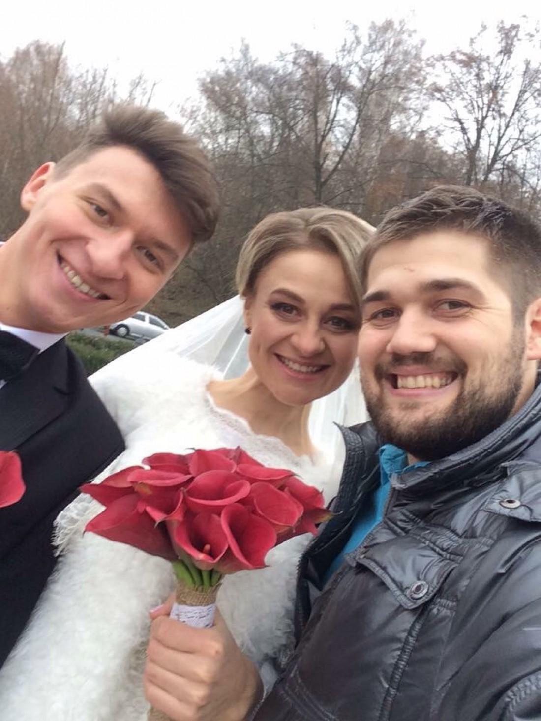 Свадьба Ольги Мартыновской
