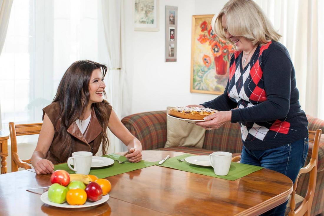 Руслана с мамой