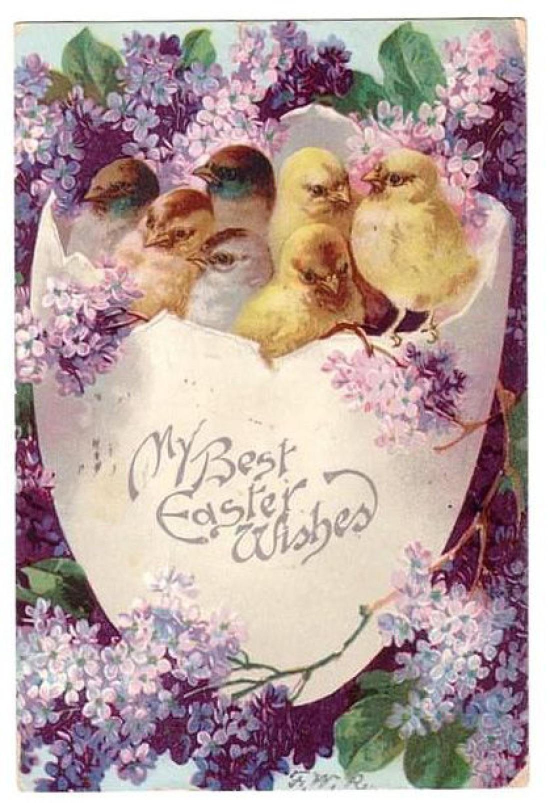 Красивые поздравительные открытки с Пасхой Христовой 71