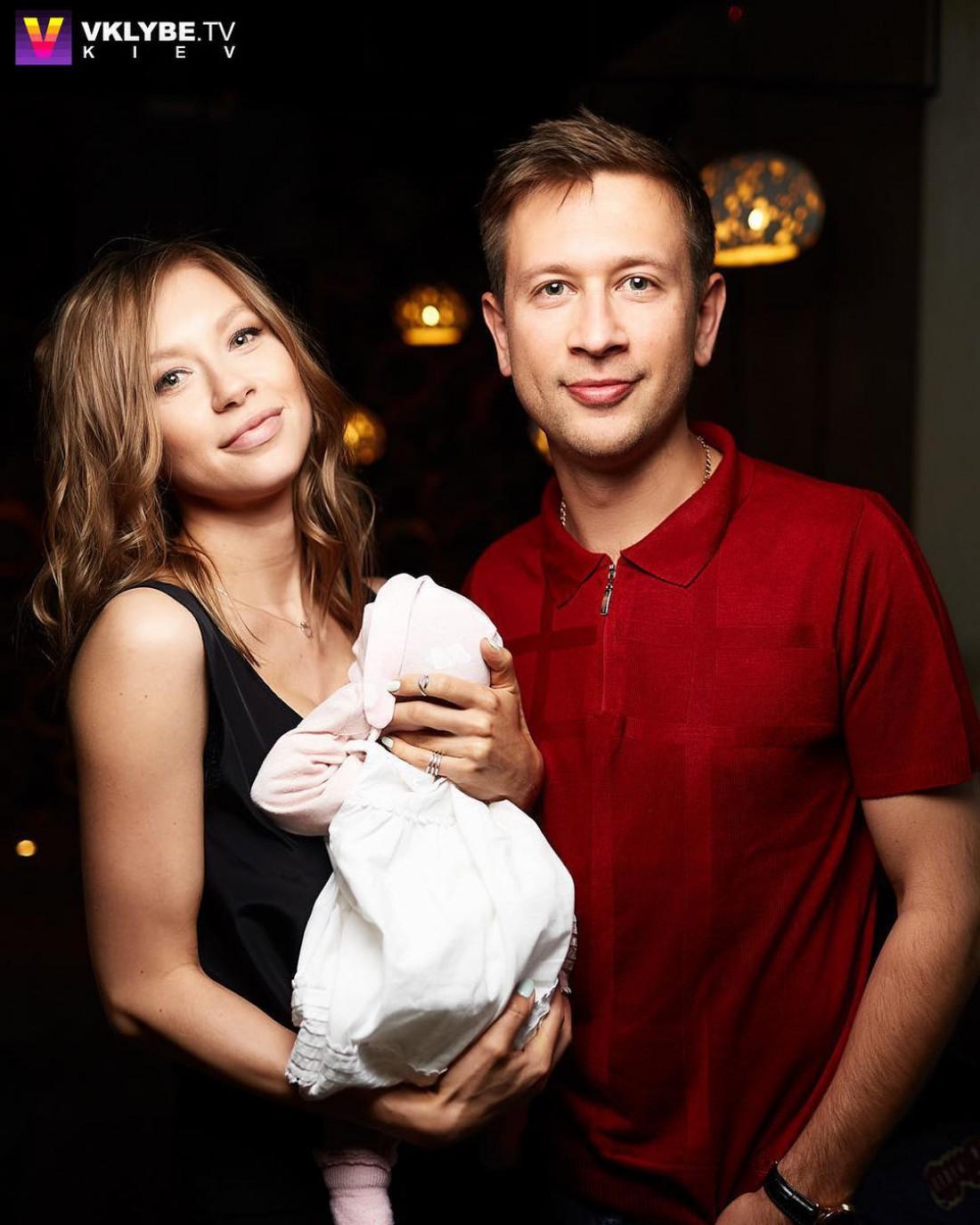 Полина Логунова и Дмитрий Ступка