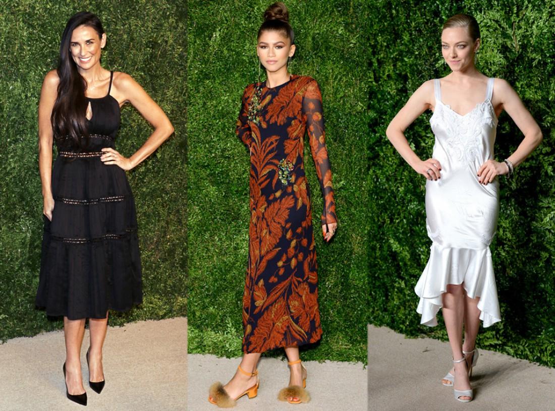 Звезды пришли поддержать любимых дизайнеров на CFDA/Vogue Fashion Fund Awards