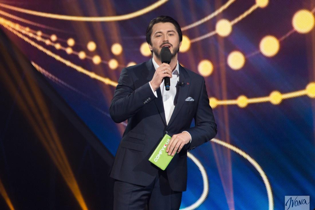 Отбор на Евровидение 2017 от Украины первый полуфинал: ведущий Сергей Притула