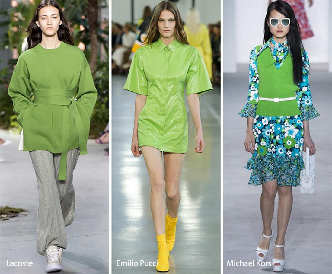 Цвет 2017 года по версии Pantone: Зелень