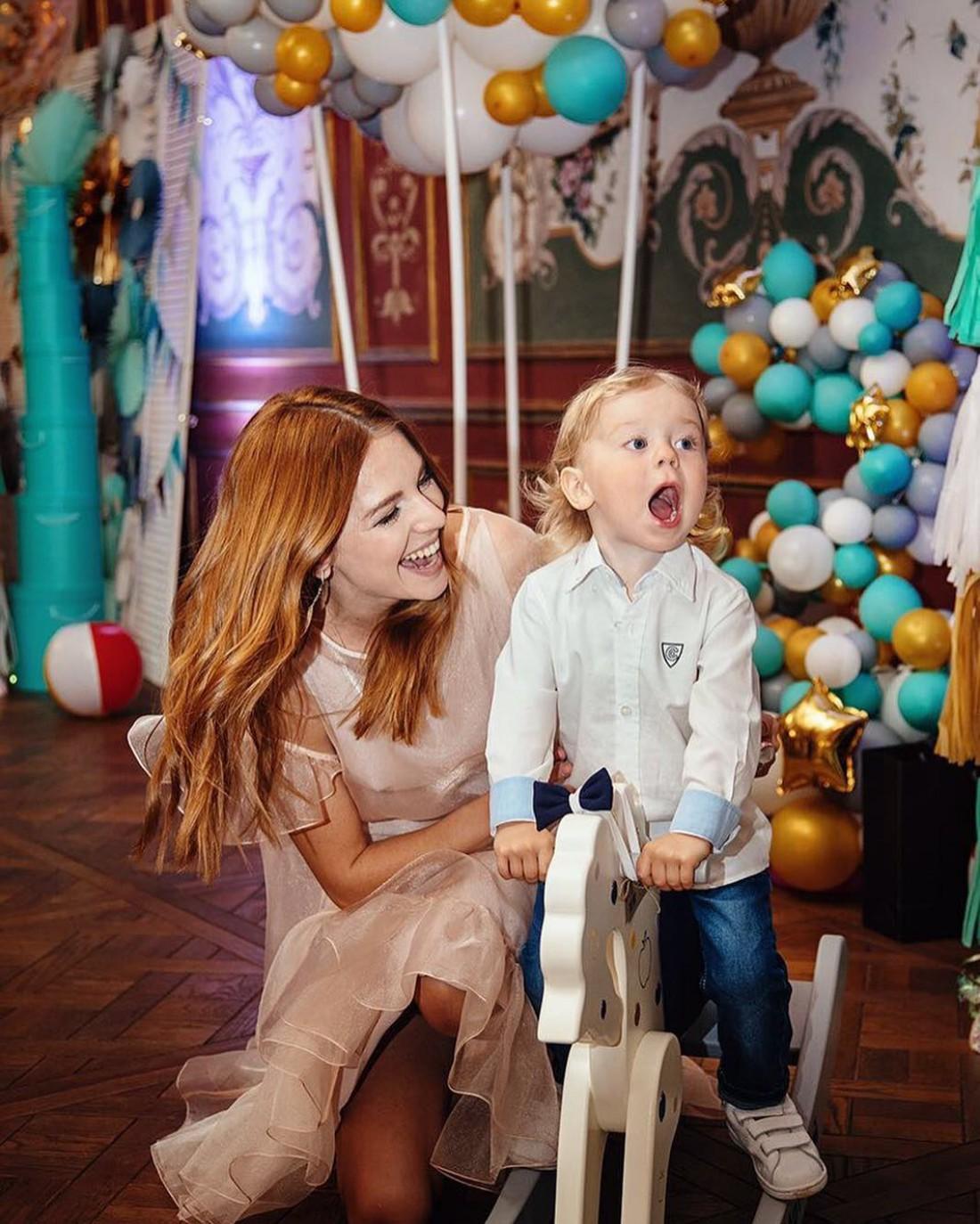 Наталья с сыном Артемом